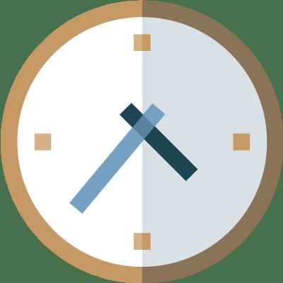 Time icon at Llandegfedd