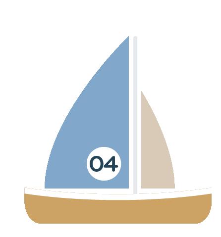 Sailing icon at Llandegfedd